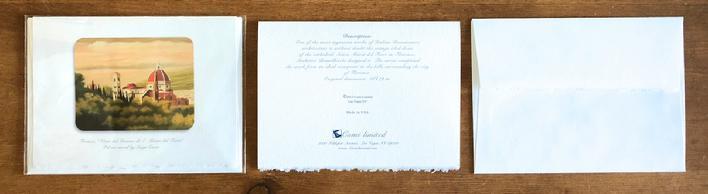 Vicchiomaggio wedding invitations